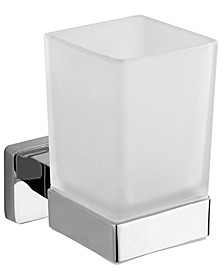 General Hotel Chrome Wall-Mounted Toothbrush Holder