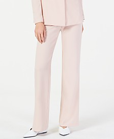 I.N.C. Petite Straight-Leg Suit Pants, Created for Macy's