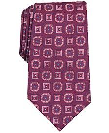Men's Medallion Silk Tie, Created for Macy's