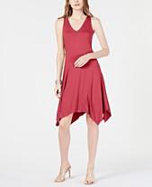 5ecfcc54c39bf I.N.C. Sleeveless Asymmetrical-Hem Dress, Created for Macy's
