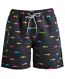 "Men's Neon Chubby 17"" Board Shorts"