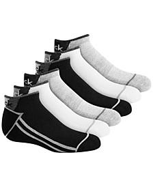 6-Pk. No-Show Socks, Little & Big Boys
