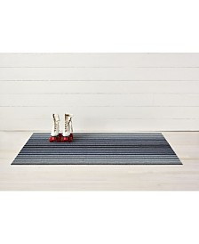 "Chilewich Block Stripe Shag Big Mat - 36"" x 60"""