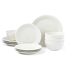 Willow Drive  12-PC  Dinnerware Set, Service for 4