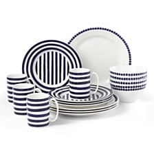 kate spade new york Charlotte Street North 16-PC Dinnerware Set