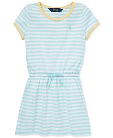 Polo Ralph Lauren Toddler Girls Striped Cotton Jersey T-Shirt Dress