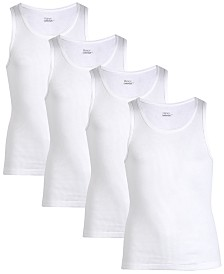 Hanes Big Boys 4-pack Cotton Tank Tops