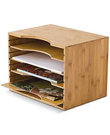File Organizer with 4 Dividers