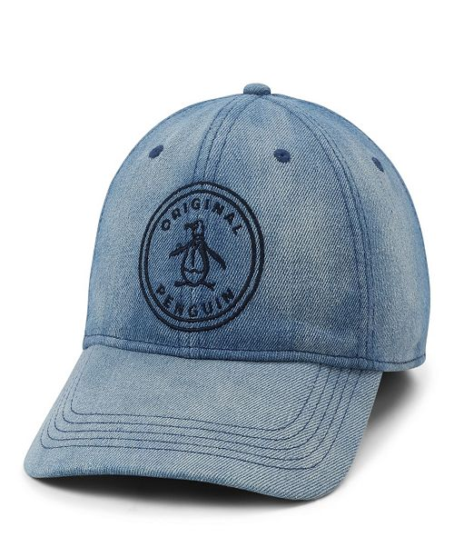 Original Penguin Denim Baseball Cap