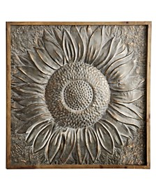 Traditional Sunburst Metal Wall Decor