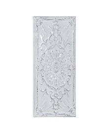 Traditional Metal Sunflower and Scroll Wall Decor