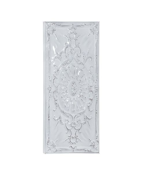 Rosemary Lane Traditional Metal Sunflower and Scroll Wall Decor