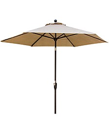 "Table Umbrella for the Traditions Outdoor Dining Collection - 108"" x 104"" x 12.13"""