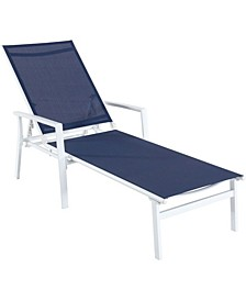 "Naples Adjustable Sling Chaise - 20"" x 26.5"" x 15.4"""