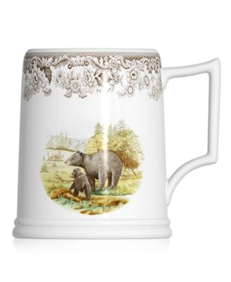 Dinnerware, Woodland Tankard Beer Mug Black Bear