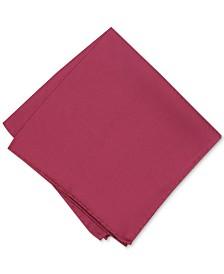 Alfani Men's Solid Twill Silk Pocket Square, Created for Macy's