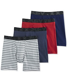 Jockey Men's 4-Pk. Midway Briefs