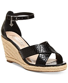 Nanette by Nanette Lepore Quirky Wedge Sandals, Created for Macy's