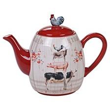 Farmhouse Teapot