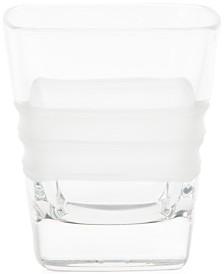 Vietri Lastra Double Old Fashioned Glass