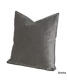 "Siscovers Padma Smoke 26"" Designer Euro Throw Pillow"