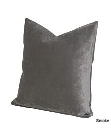 "Siscovers Padma Smoke 26"" Designer Euro Throw Pillow"