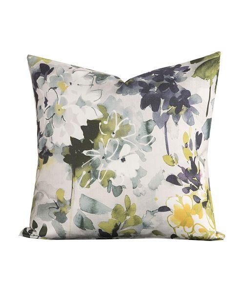 """Siscovers Summer Set Plum 20"""" Designer Throw Pillow"""