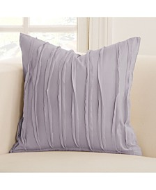 "Siscovers Tattered Lavender 26"" Designer Euro Throw Pillow"