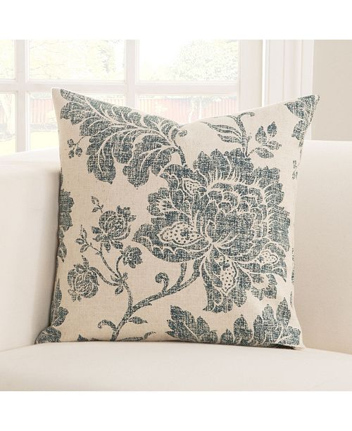 """Siscovers Everbloom pologear Indio go 16"""" Designer Throw Pillow"""