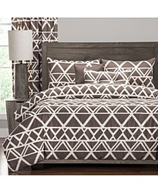 Geotribe 6 Piece Full Size Luxury Duvet Set