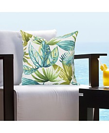 "Siscovers Indoor-Outdoor Tropical 16"" Designer Throw Pillow"