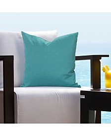 """Siscovers Tropical Teal 16"""" Designer Throw Pillow"""