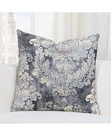 "Cindersmoke Linen 16"" Designer Throw Pillow"