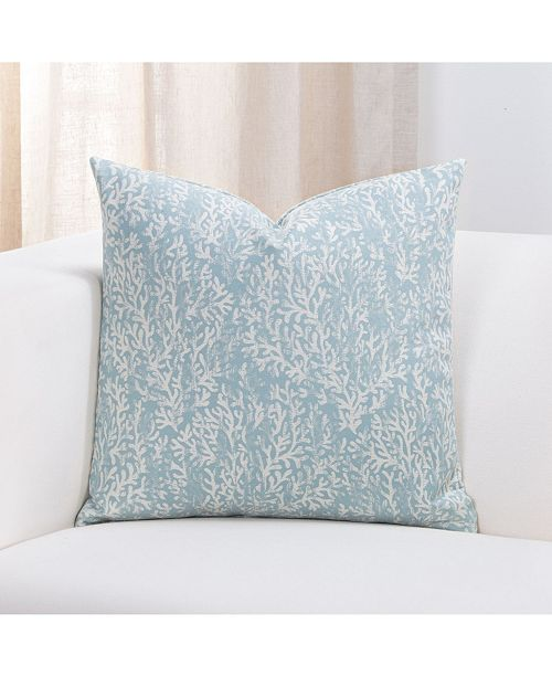 "Siscovers Liza Coastal 26"" Designer Euro Throw Pillow"