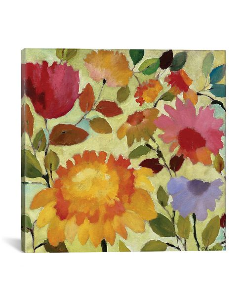 "iCanvas ""Orange Dahlia"" By Kim Parker Gallery-Wrapped Canvas Print - 18"" x 18"" x 0.75"""