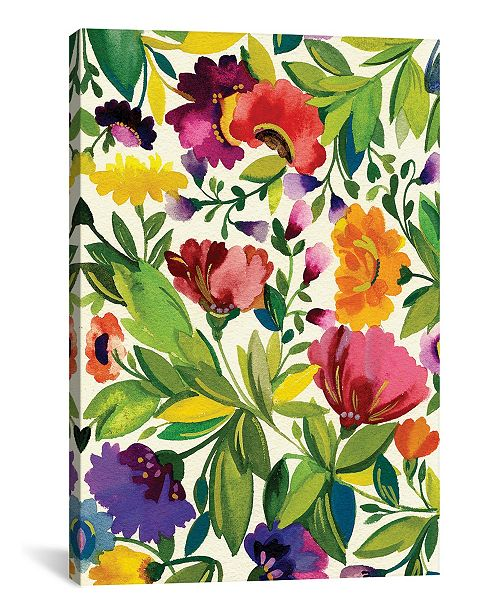 """iCanvas """"September Bouquet"""" By Kim Parker Gallery-Wrapped Canvas Print - 18"""" x 12"""" x 0.75"""""""