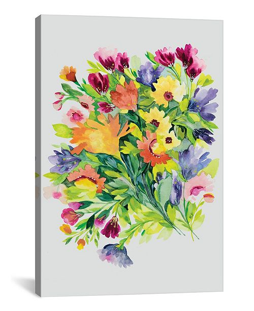 "iCanvas ""Autumn Bouquet"" By Kim Parker Gallery-Wrapped Canvas Print - 60"" x 40"" x 1.5"""