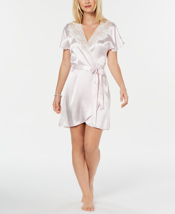 Linea Donatella - Juliet Short Satin Robe