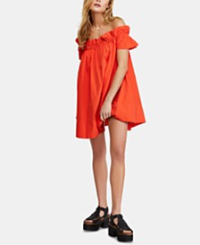 Free People Sophie Off-The-Shoulder Dress