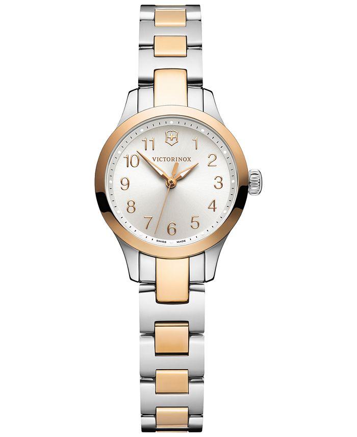 Victorinox Swiss Army - Women's Alliance XS Two-Tone Stainless Steel Bracelet Watch 28mm