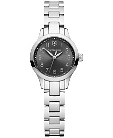 Victorinox Swiss Army Women's Alliance XS Stainless Steel Bracelet Watch 28mm