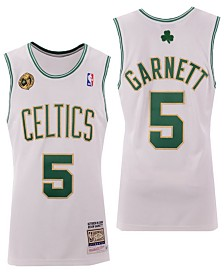 Mitchell & Ness Men's Kevin Garnett Boston Celtics Authentic Jersey