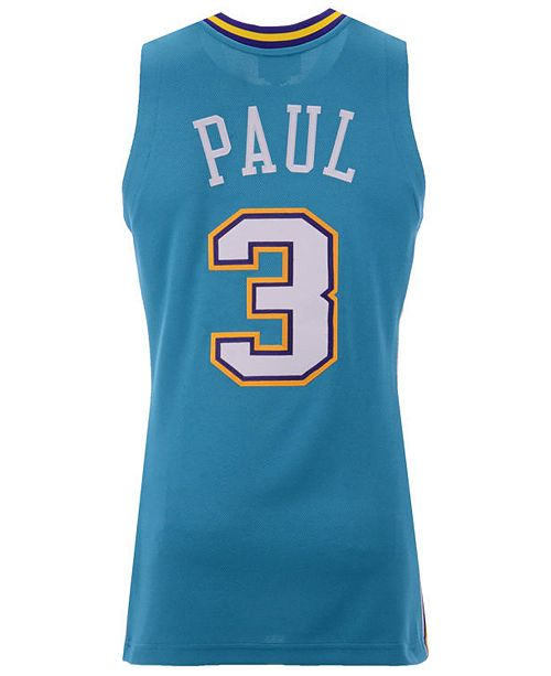 promo code bf7b0 738b1 Men's Chris Paul New Orleans Hornets Authentic Jersey