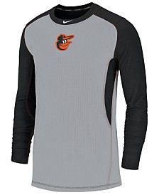 Nike Men's Baltimore Orioles Authentic Collection Game Top Pullover