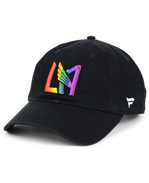 ... Lids Authentic MLS Headwear Los Angeles Football Club Pride Strapback  Cap ... 1e32f1e0fa73