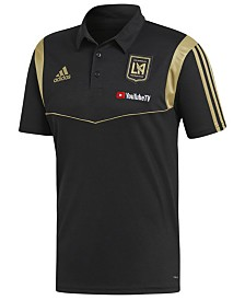adidas Men's Los Angeles Football Club Coached Polo