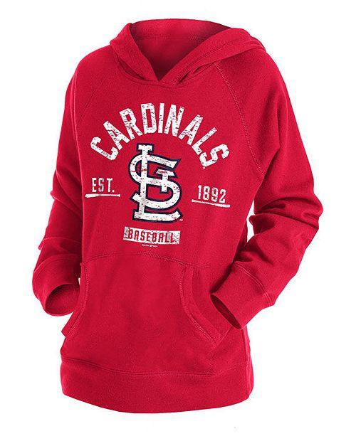 New Era Big Boys St. Louis Cardinals Fleece Pullover Hoodie