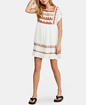 c6372fcd7f6 Free People Sunrise Wanderer Embroidered Lace-Trim Dress