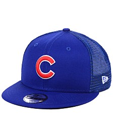 New Era Boys' Chicago Cubs All Day Mesh Back 9FIFTY Snapback Cap