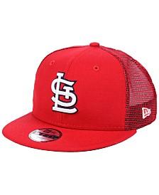 New Era Boys' St. Louis Cardinals All Day Mesh Back 9FIFTY Snapback Cap